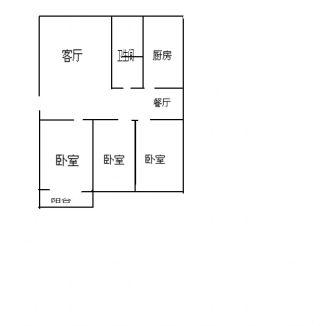 裕安三村多层洞二小分校104平方3/2/1好房出售_4