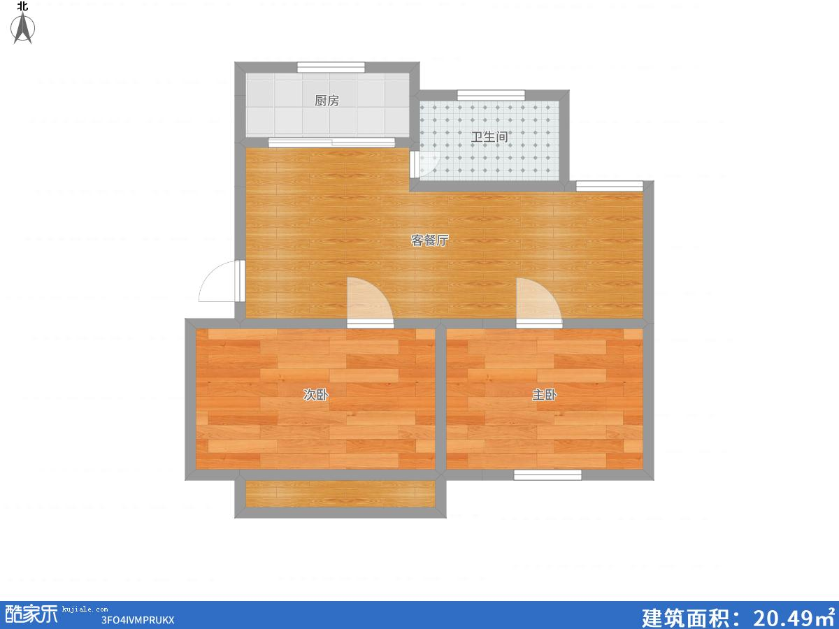 兰亭小区2室2厅精装修出售。