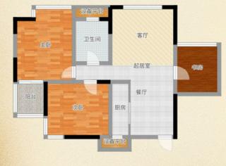 D壹街区3室2厅普通装修急售_14
