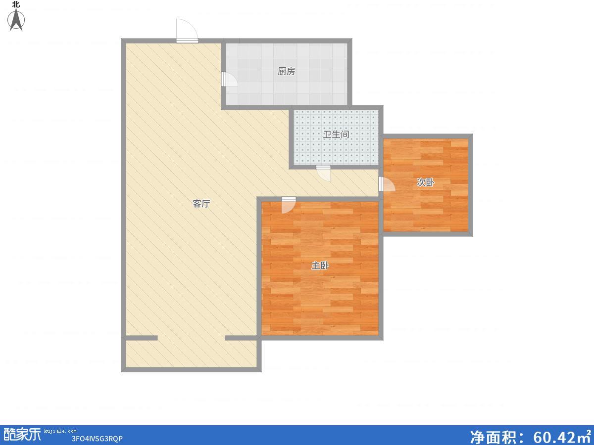 双子星座精装2室2厅出售