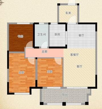 淮河新城精装3房低价急售