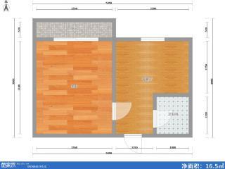 宏学雅居公寓精装50平米售24万_8