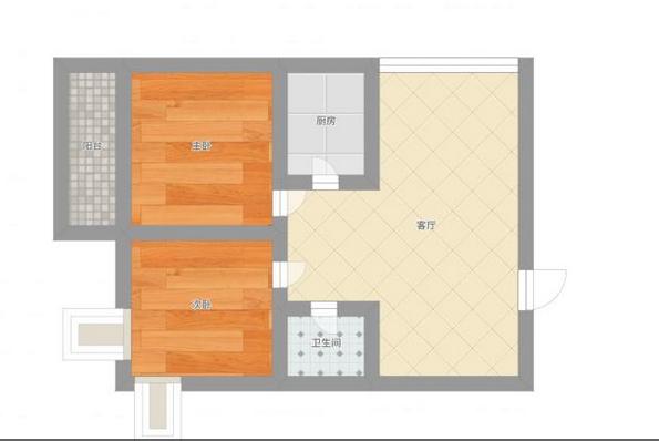 优山美地精装两房 保持新