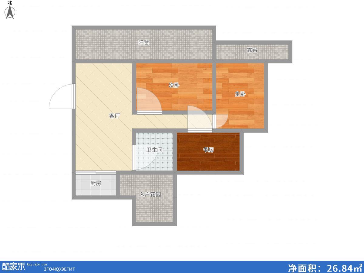 英伦联邦4室2厅1厨2卫1阳台125.42平米