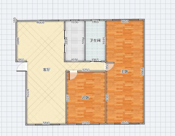 瀚城二期2房2厅好房急售