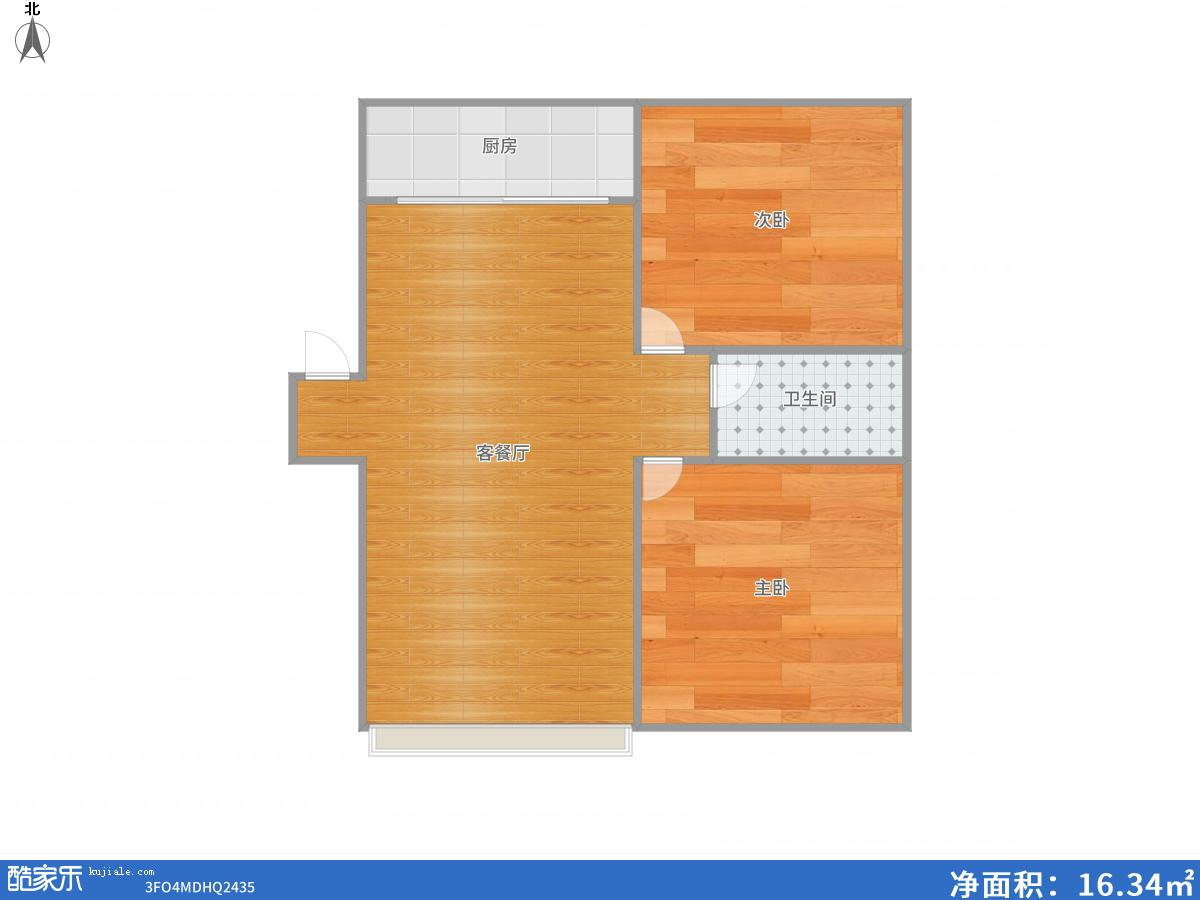 银鹭安居苑毛坯2室2厅多层4楼洞二小校区房出售