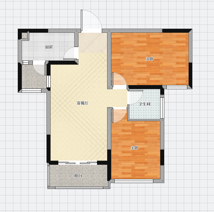 广弘城豪装2室2厅93平米出售