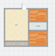龙湖中心25楼2室1厅精装修 急售