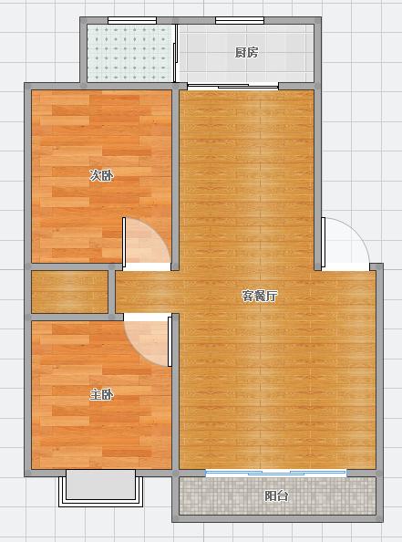 房东急售斯瑞明珠城81平米2室中装好房