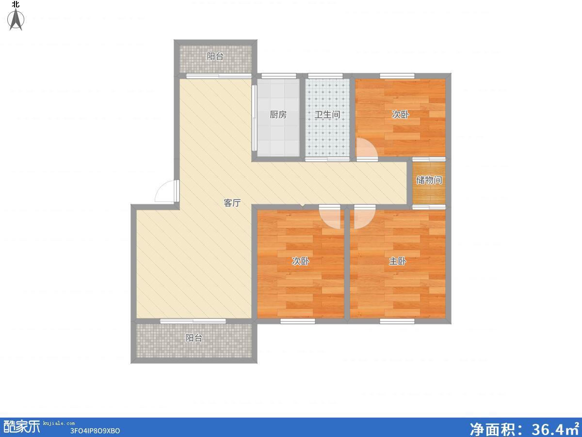 奥林花园127.8平多层4楼 好房出售_16