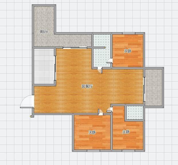领城129平米毛坯3房急售