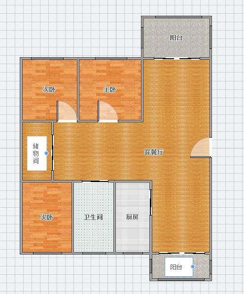 翰林华府119平米3室精装出售_9