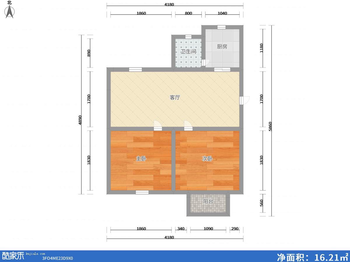 兰亭小区婚房5楼23万出售