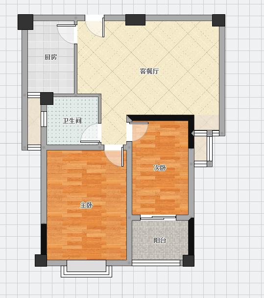 银鹭万树城组团四2室2厅精装修