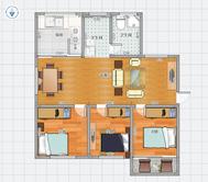 百花园三期3室2厅 中装 好房出售