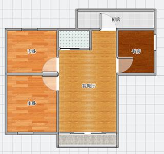 惠利商住楼 100平米3室精装出售_8