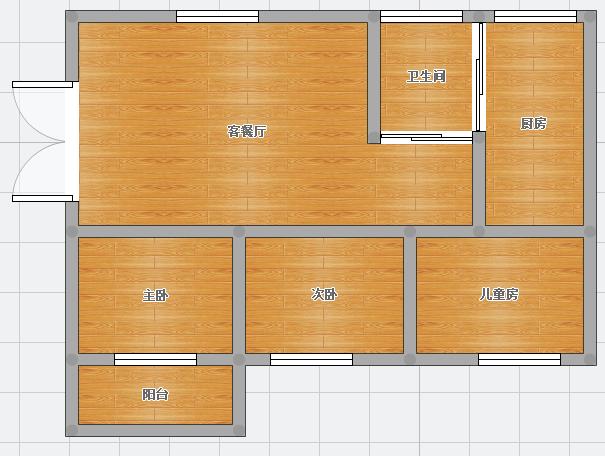 裕安三村106平米3室简装出售