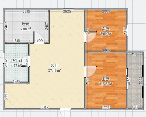东苑西区78.03平精装好房出售