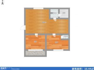 龙泉北村2室2厅98.65平米多层3楼简装房急售_10