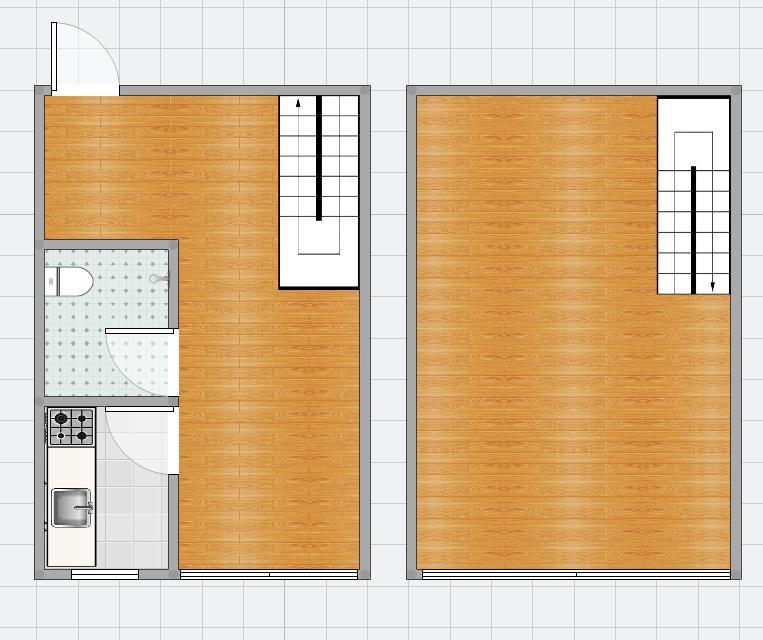 财富中心59.66平米2室精装出售
