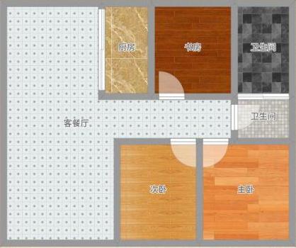 龙湖中心毛坯三房出售_13