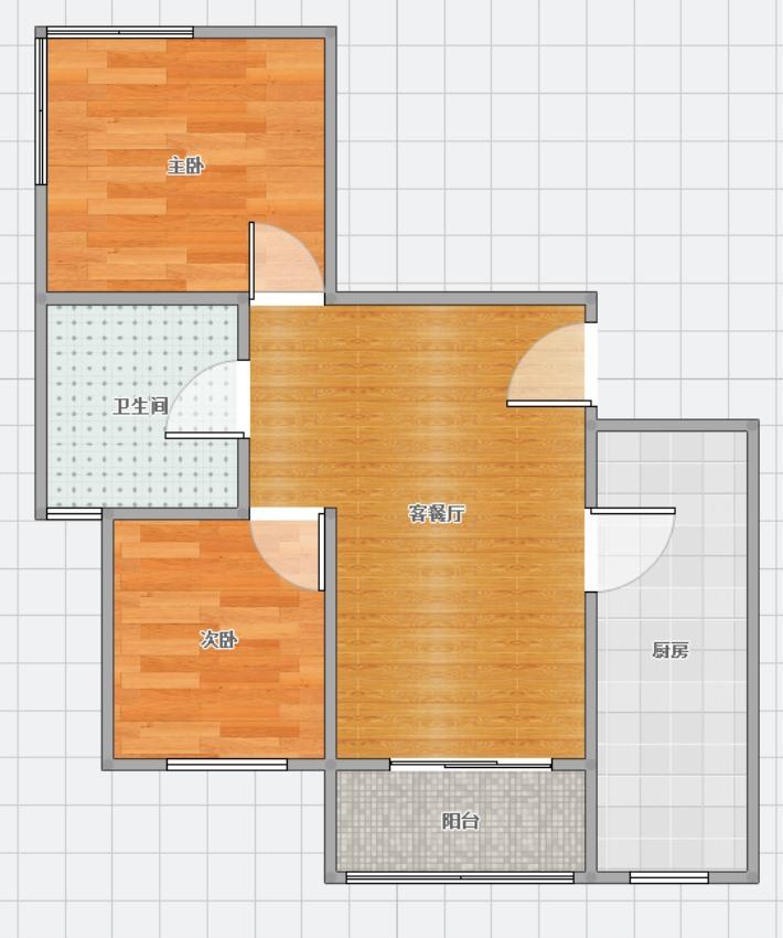 恒大绿洲2室2厅