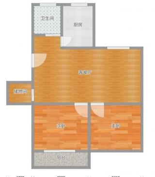 前锋花园2室2厅简装好房出售_9