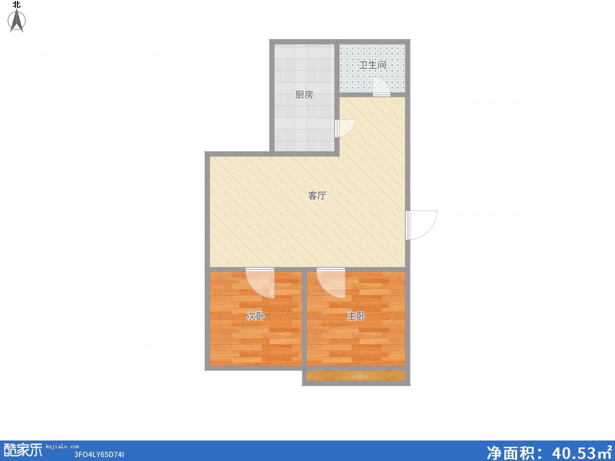 龙泉山庄69.05平米毛坯房十八小学区房40万