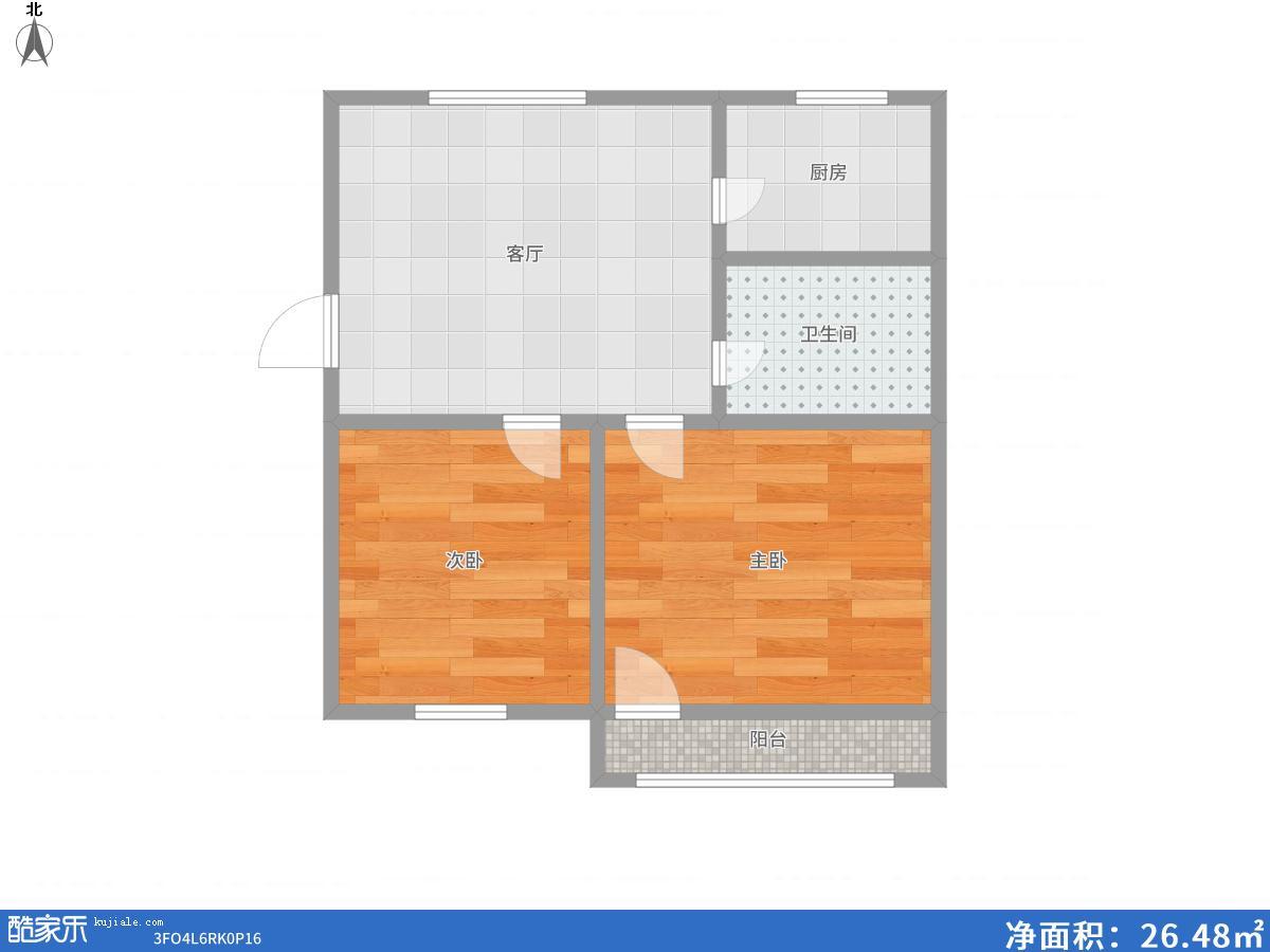 龙泉村两室两厅精装修出售_9