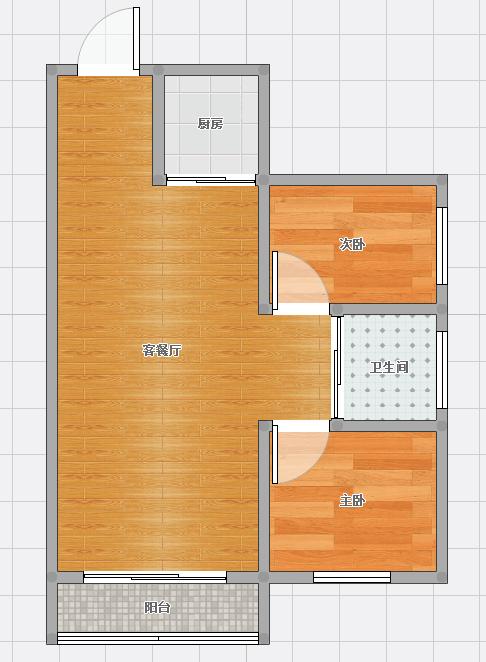 金地月伴湾四区 两室 精装修