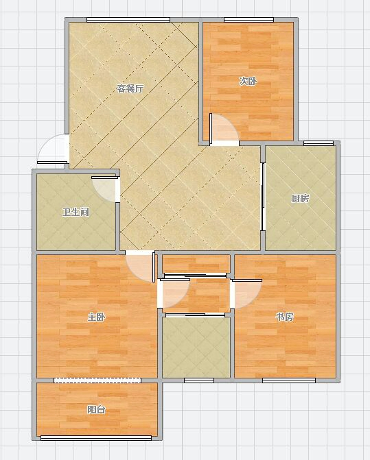山南印象3室2厅1厨1卫