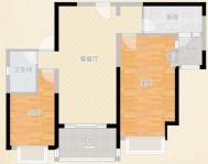 恒大绿洲2室2厅精装出售淮师附小实验中学双学区