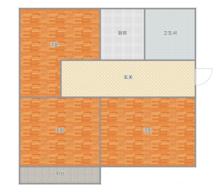前锋一村,2室1厅,简装