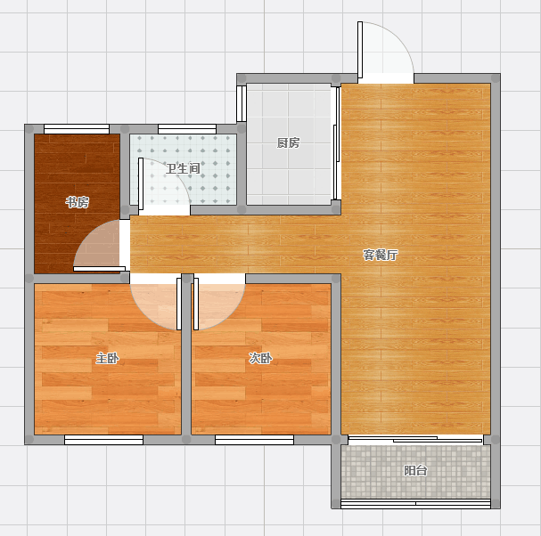 金地国际城二期阳光里位于朝阳东路南毛坯3室2厅