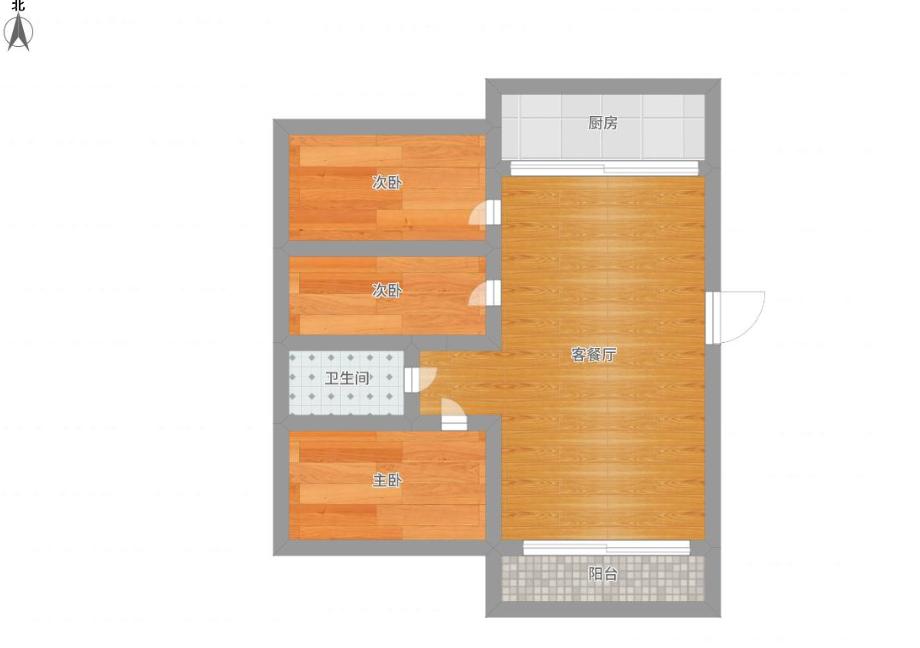惠利中都二期多层二楼