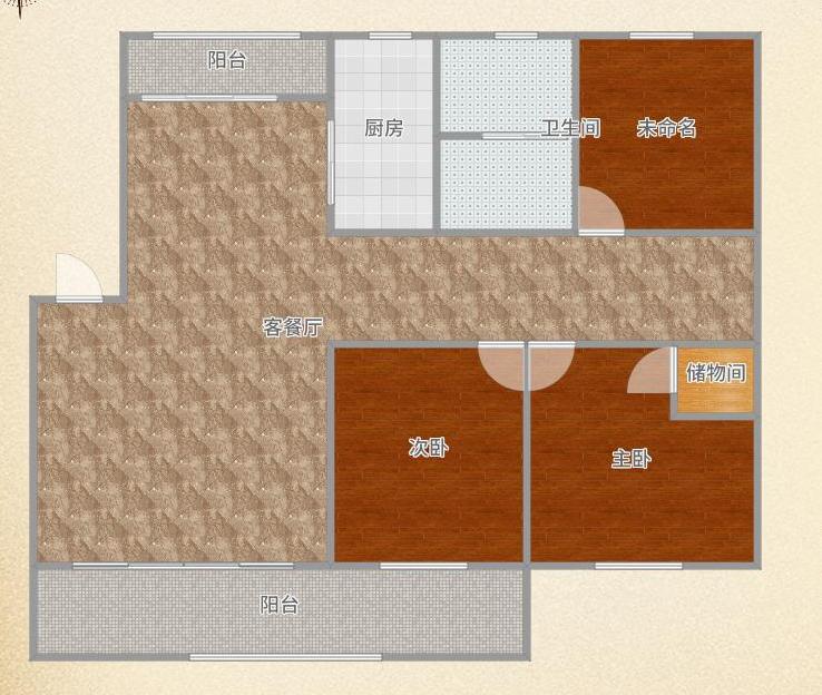 金湾香都精装修三室两厅两卫