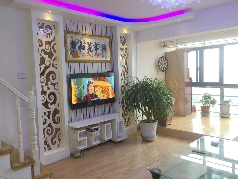 金地国际城复式公寓共100平  精装修  3室2厅双阳台  送家具家电  满五唯一_2