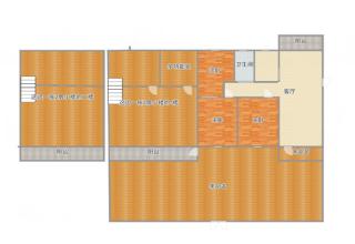 商贸附近-工商银行家属楼多层一楼有院子_19
