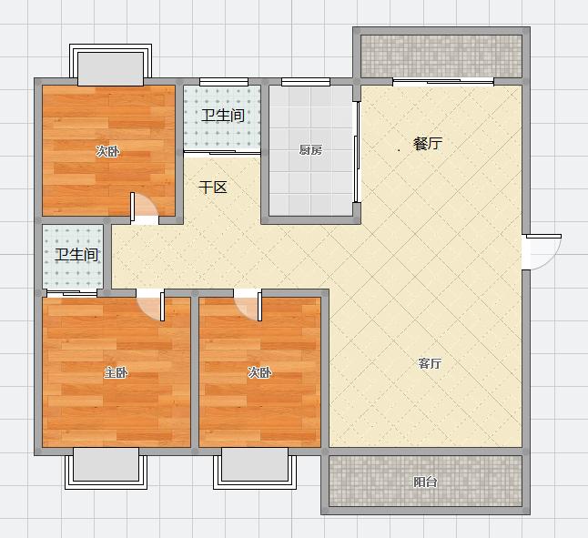 馨雅苑3室2厅2卫_14