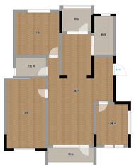 金地滟澜山精装三室二厅学区房出售 老证