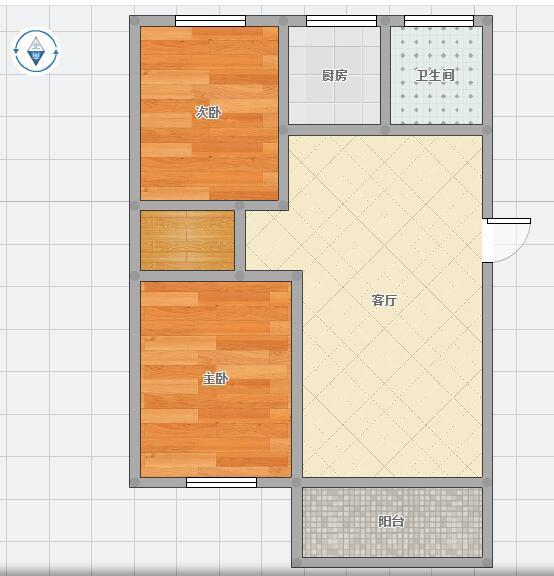 朝阳雅园精装2室2厅_12
