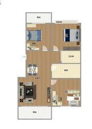 领城3室2厅精装修