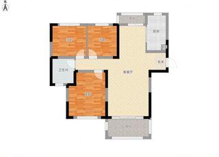 广弘城毛坯3室可做婚房_12