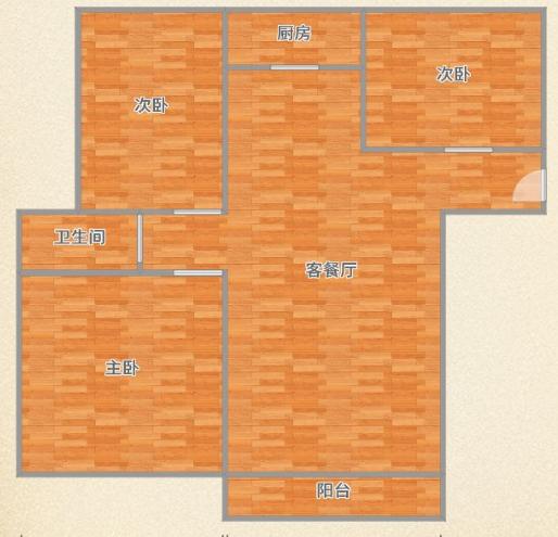 阳光国际城二期阳光里,3室2厅婚房