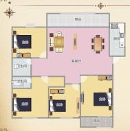万茂华府纯毛坯4室2厅淮师附小高层