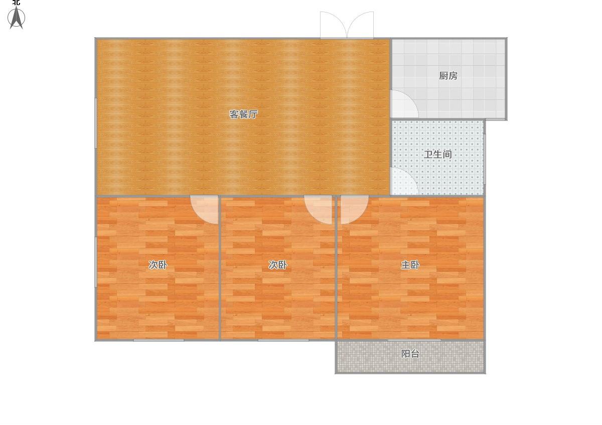 金地环球港毛坯3室2厅房出售学区房