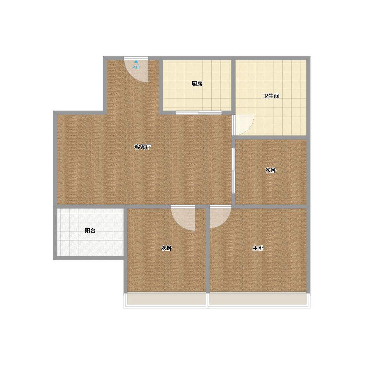 精装三室两厅出售