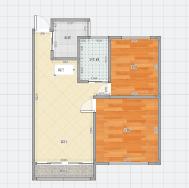龙湖中心27层中装2房低价出售