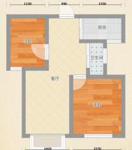 朝阳东路毛坯两房