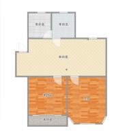 斯瑞明珠城多层二楼简装两室诚心出售
